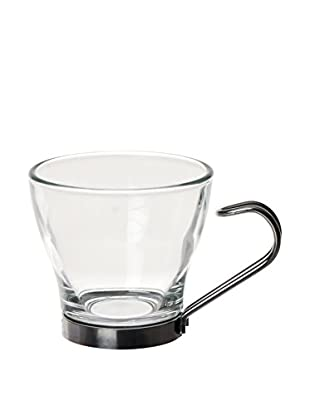 Brunch Time Espressotasse 6er Set transparent