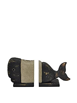 Three Hands Whale Bookends