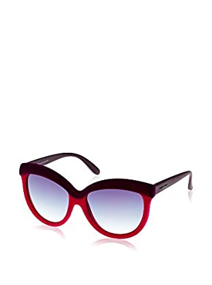 Italia Independent Gafas de Sol 0092V2 (58 mm) Burdeos