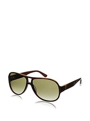 Salvatore Ferragamo Women's SF623S Sunglasses, Light Havana