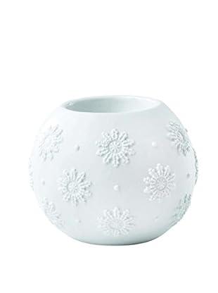 Wedgwood Snowflake Votive, White