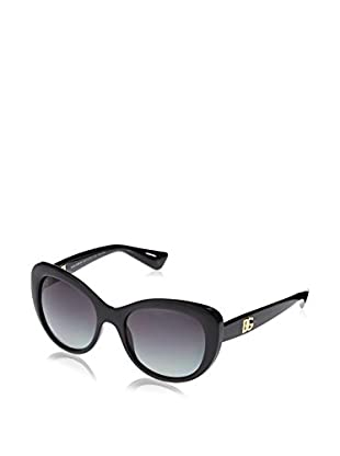 ZZ-Dolce & Gabbana Gafas de Sol Polarized DG6090 501/T3 (54 mm) Negro
