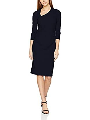 Nife Vestido Azul Marino M (EU 38)