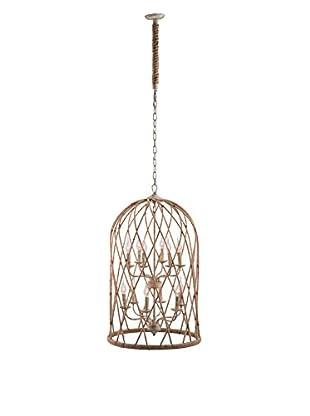 Zuo Coal Ceiling Lamp, Twine/Beige/Rust