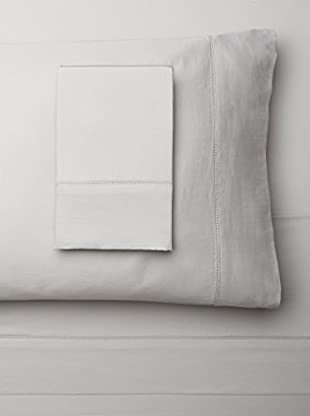 Mélange Home Egyptian Cotton Hemstitch Sheet Set