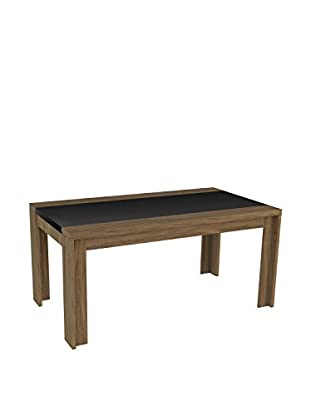 Manhattan Comfort Eastern 6-Seat Dining Table, Walnut