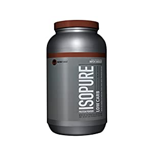 Isopure Low Carb - 3 lbs (Dutch Chocolate)