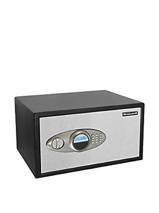 2-Drawer 1.23 Cu. Ft. Steel Security Jewelry Safe, Black/Chrome