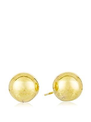 Silver Luxe Pendientes plata de ley 925 milésimas bañada en oro