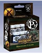 Privateer Press Formula P3 Paint - Mercenary Colors