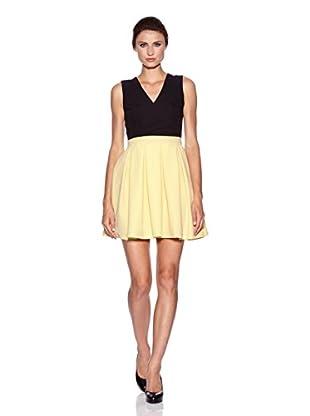 Nife Vestido Heidi (Amarillo / Negro)
