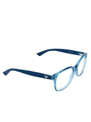 Emporio Armani Damen Brillengestell EA 9861 601 EA9861601 (blau)