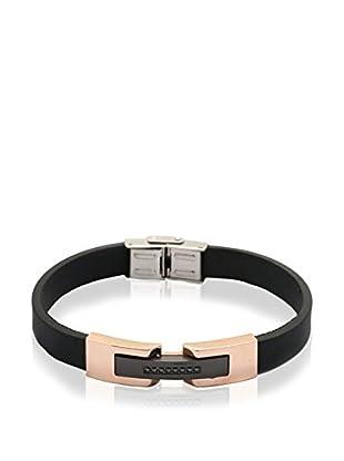 Blackjack Jewelry Armband BJB77Z Black/Rose gold