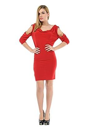 Via Bellucci Vestido Alicia (Rojo)