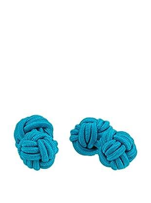 Ortiz & Reed Gemelli Multi-Color Knots Cufflinks