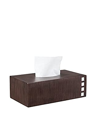 Creative Scents Marquee Rectangular Tissue Box, Brown