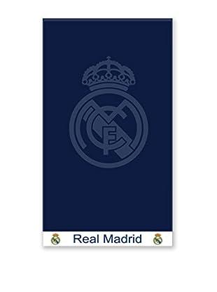 Art Experience Toalla Playa Real Madrid Jaquard Marino 100 x 170