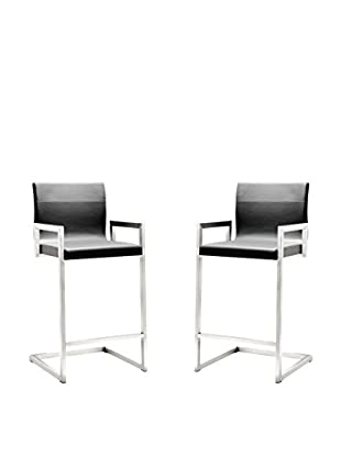 TOV Furniture Milano Set of 2 Counter Stools