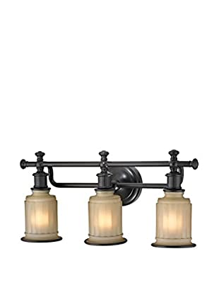 Artistic Lighting Acadia Collection 3-Light LED Bath Bar, Oil Rubbed Bronze
