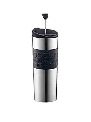 Bodum 15-Oz. Insulated Travel Press, Black