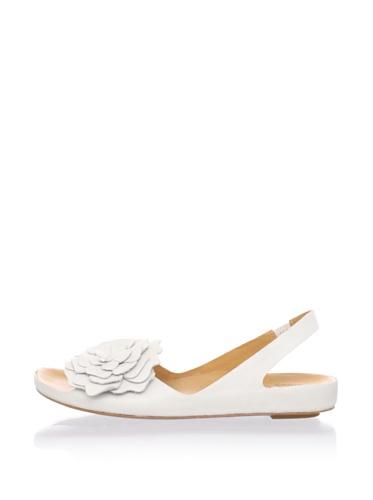 Kork-Ease Women's Brandy Flat Sandal (Ivory)