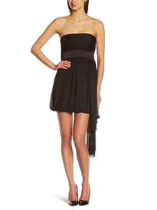 Manoukian Vestido Escotusa (Negro)