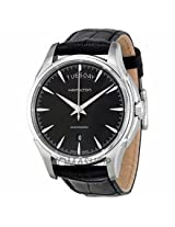 Hamilton Jazzmaster Black Dial Leather Mens Watch H32505731