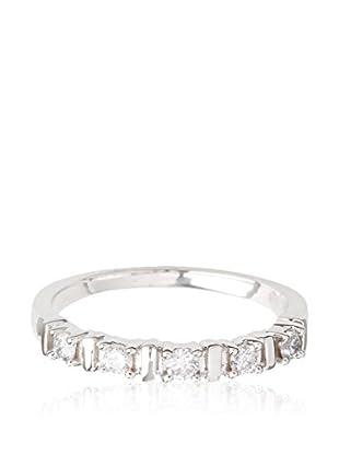 PARIS VENDÔME Anillo Alliance Barette 5 Diam Diamant