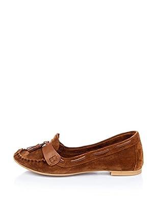 Bueno Shoes Mocasines Clásicos Borlas