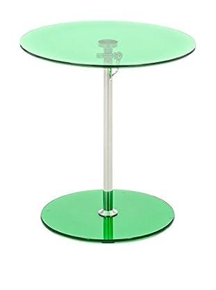 Contemporary Home Mesa Auxiliar Gong Verde