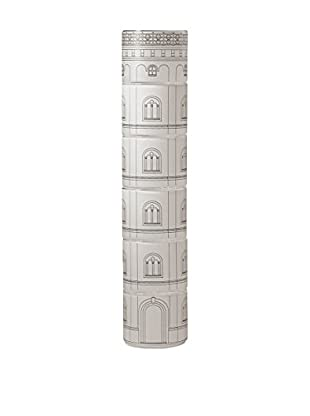 Seletti Torre Scura Set of 6 Satin Glasses, White