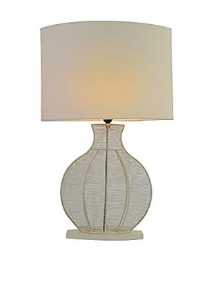 Jeffan Ficaro Table Lamp, White