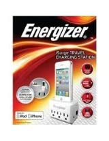Energizer SPMFI2 Charging Station with 3 Outlet - Retail Packaging - White