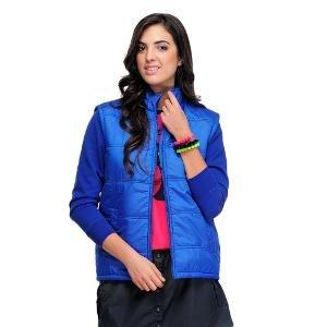Yepme Women's Jacket-Blue By Yepme