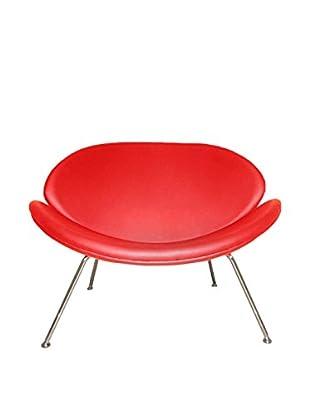 Manhattan Living Slice Chair, Red