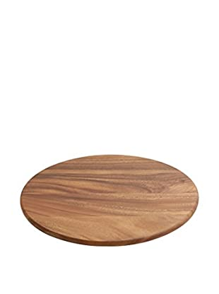 Woodard & Charles Acacia Wood Lazy Susan Tray