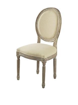 Novità Home Stuhl Blasone naturweiß