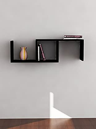 Decortie by Homemania Estante Dibi (Negro)