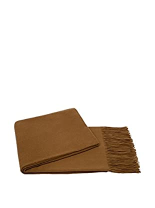 a & R Cashmere Cashmere & Wool Throw, Camel