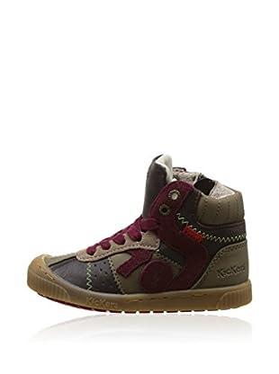 Kickers Hightop Sneaker Zigoto braun