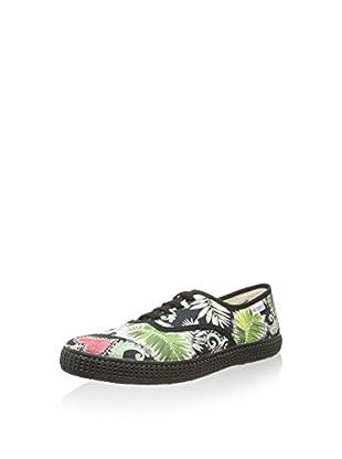 Victoria Sneaker Ingles Flores Y Corazones