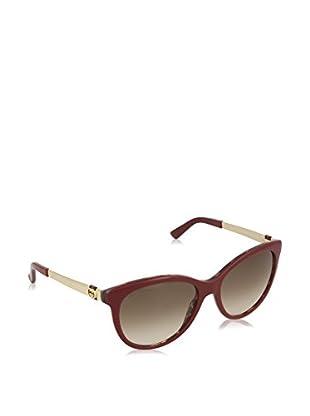 GUCCI Sonnenbrille 3784/S CC LVS (56 mm) bordeaux