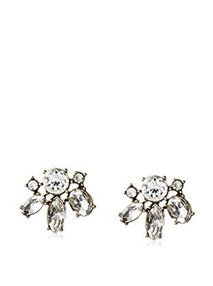 David Aubrey Multi-Crystal Earrings