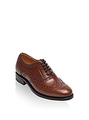 British Passport Oxford Wing Cup Goodyear Box Calf