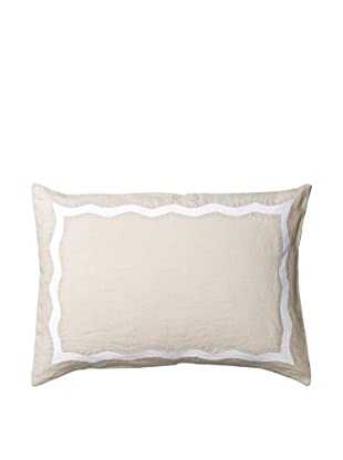 Vera Wang Glisse Decorative Pillow, Ivory