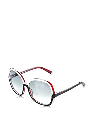 D Squared Sonnenbrille DQ006658 (58 mm) weiß/schwarz/rot