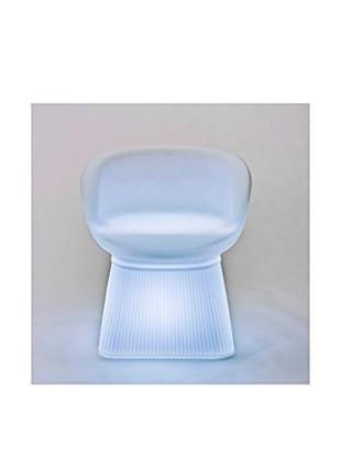 Artkalia Deauville Wireless LED Chair, White Opaque