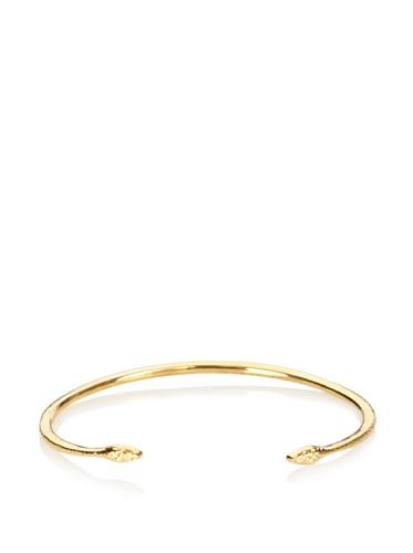 Eddera Gold Snake Cuff