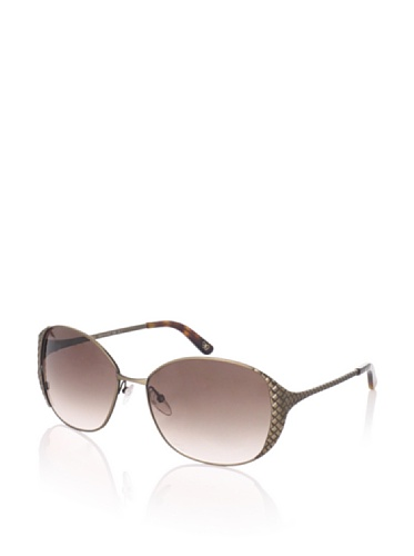 Bottega Veneta Women's BV146/S Sunglasses (Semi Matte Brass)