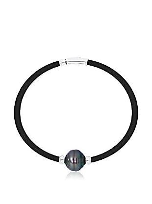Manufacture Royale des Perles du Pacifique Armband 18 cm rhodiniertes Silber 925